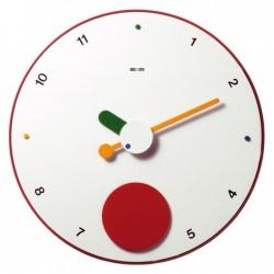 Contrattempo pendulum wall clock