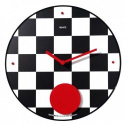 Scaccomatto orologio a pendolo da parete