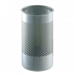 Cestino alto/portaombrelli in acciaio traforato - Cribbio