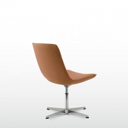 Amelie Glue executive low back chair without armrests