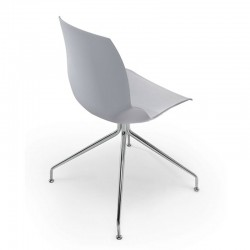 Kaleidos chair with 4 cone shaped legs