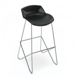 Bar stool with footrest - Kaleidos