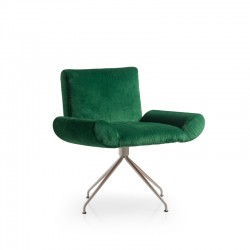 Armchair with armrests 4 cone shaped Ginevra