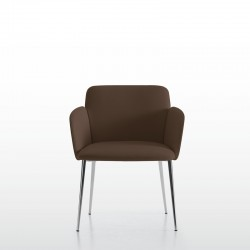 Hanami chair with armrests