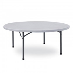 Catering round folding tables