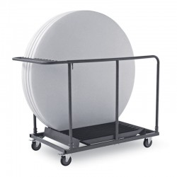 Round table trolley - Light