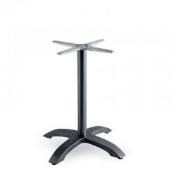 Capri 4 table base in painted aluminium