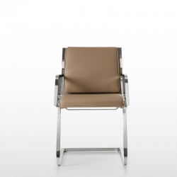 Word Comfort visitor chair cantilever base