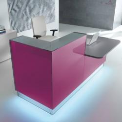 Modular reception desk 29 Linea