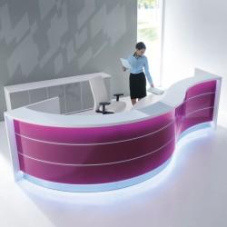 Modular Reception desk 06 Valde