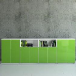Mobile contenitore con libreria - Gloss 2