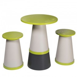 Set Totem round high table...