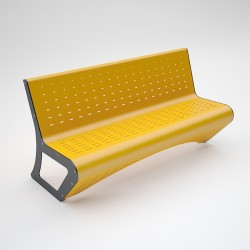 Bench Space steel