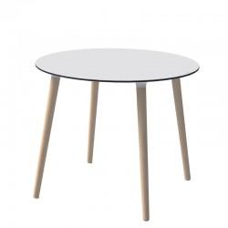 Stefano tavolo tondo in legno