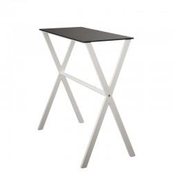 Ics, tavolo alto in metallo...