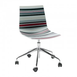 Office swivel chair with wheels - Colorfive 5R