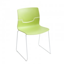 Chair with sled frame Slot S