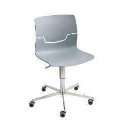Swivel Chair on 5-blade base Slot 5R
