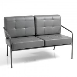 2 Seater sofa in eco-leather