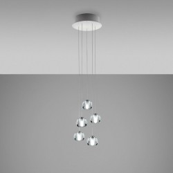 LED 5 spots Pendant lamp...