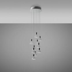 LED Pendant Lamp 10 spots Polair