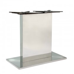 Bapia table base in steel...