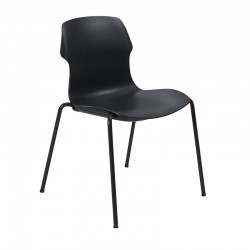 Stereo stackable chair in polypropylene