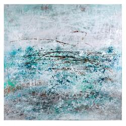 Brush, quadro acrilico su tela 100x100