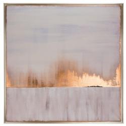 Alba, quadro 100x100 con cornice