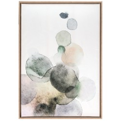 Bubbles, painting 70x100 with frame