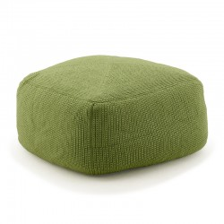 Outdoor Pouf in colored fabric - Divine