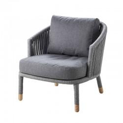 Garden armchair in fabric - Moments