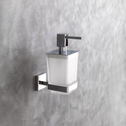 Nook steel and glass dispenser