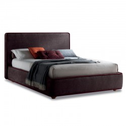 Ladypadded bed with or without storage
