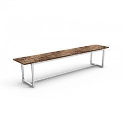 Outdoor bench in teak and...