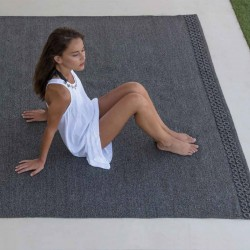 Outdoor synthetic fiber...