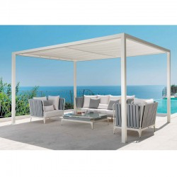 Aluminium gazebo with...