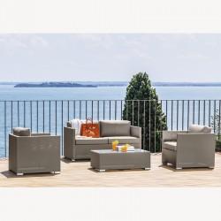 Lounge set per esterno -...