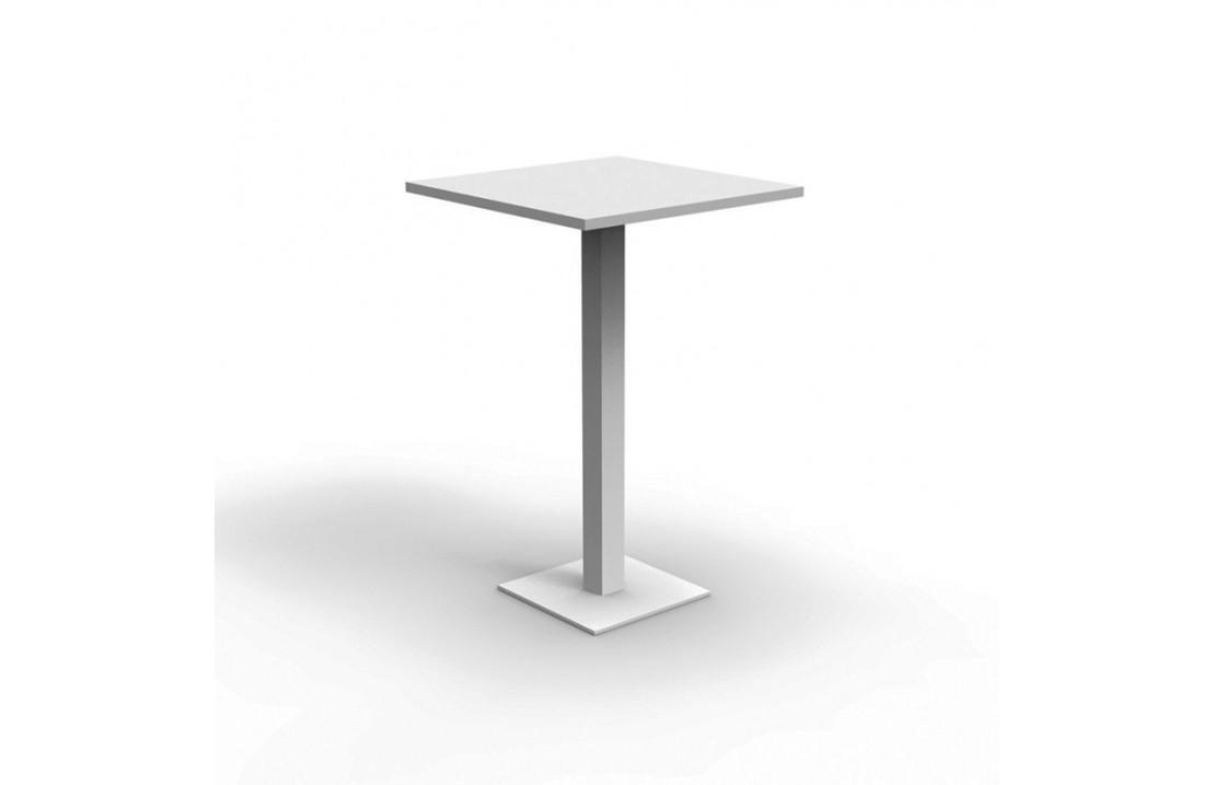 Tavoli Alti Da Esterno.Tavolo Alto Da Bar In Alluminio Per Esterno H 110 Maiorca Isa Project