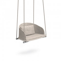 Swing chair in wood and...