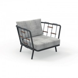Outdoor armchair with...