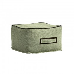 Outdoor square pouf - Soft