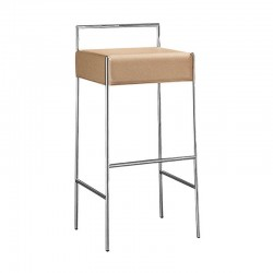 Upholstered stool H66/h76 - Mark