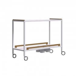 Outdoor food trolley in...