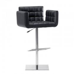 Swivel and high adjustable stool - Marsiglia