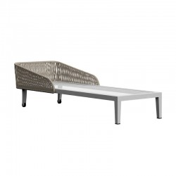Sun Lounger in aluminium...