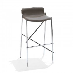 Padded stool H65 /H75- Trampoliere