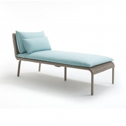 Sun Lounger aluminium with...