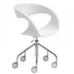 Chair with swivel base - Raff