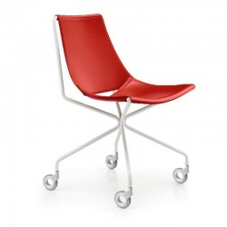 Chair Leather covered - Apelle D